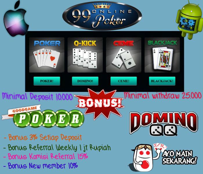 poker uang asli tanpa deposit 2015
