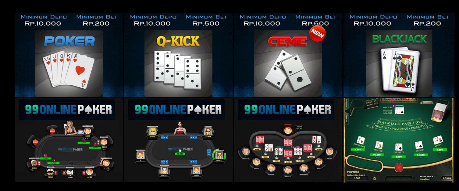 Judi poker bca