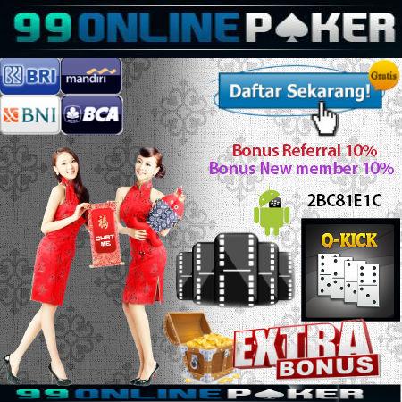 Permainan afa poker domino 99