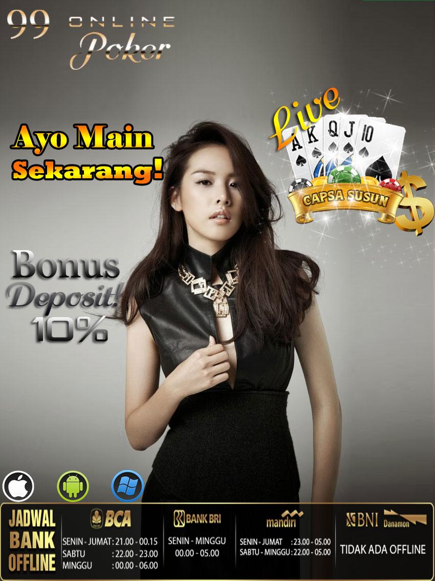 Online Capsa paling baik di Indonesia